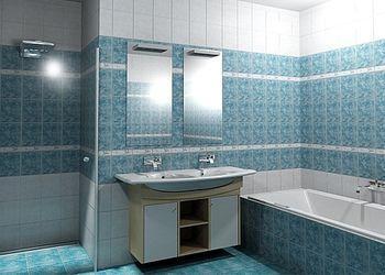 Ötletek fürdőszoba kialakításhoz – csempe, burkolat színek ...