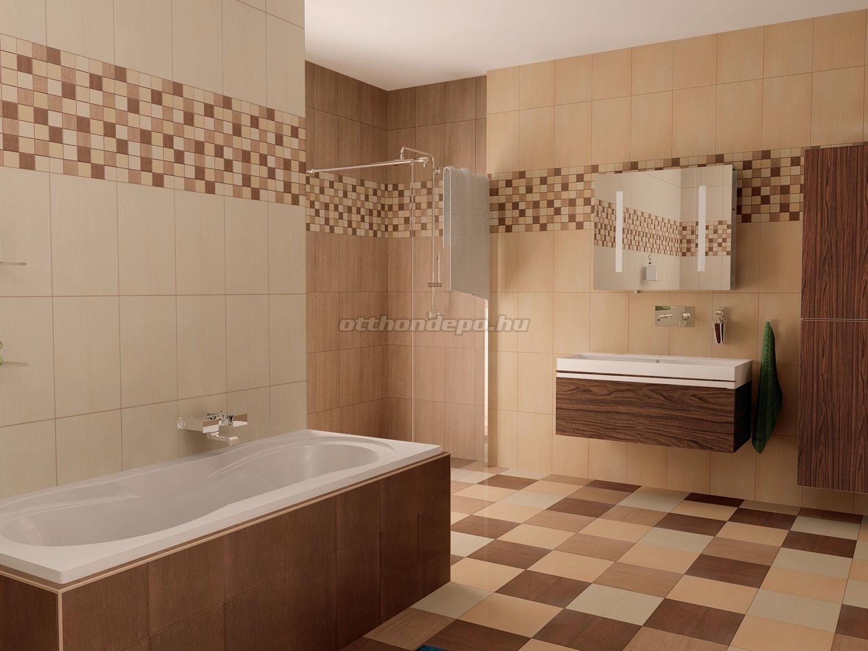 Zalakerámia Legno fahatású fürdőszobai burkolat család – OtthonDepo Blog