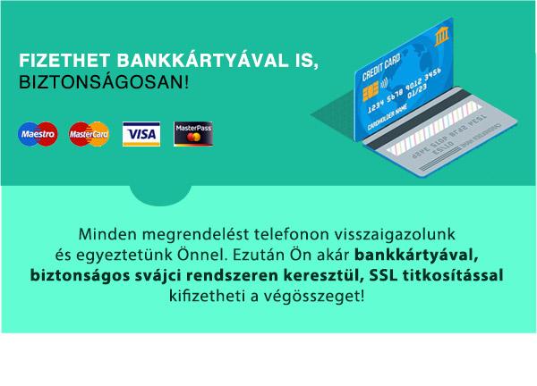 Bankkártyás fizetés SSL titkosítással