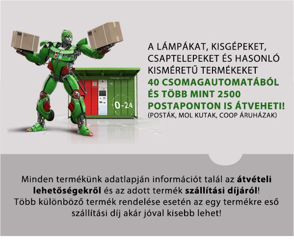Csomagautomatába is rendelhet!