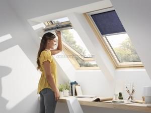 Velux tetőtéri ablak - felső
