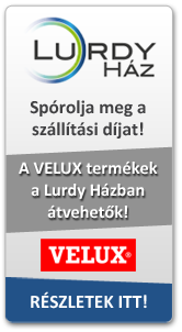 Velux term�kek �tv�tele a Lurdy-ban
