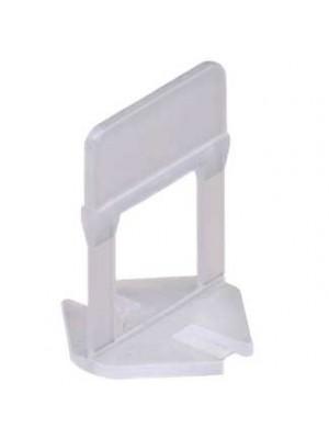 Raimondi, Lapszintező talp (klipsz) 3-12 mm-es lapig, 1,5 mm fugaszélesség (2000 db/doboz, db-ra is rendelhető) 180BASE
