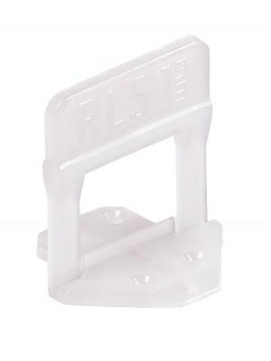 Raimondi, Lapszintező talp (klipsz) 1-12 mm lapvastagsághoz, 1 mm fugaszél.(3000db/dob., de darabra is rendelhető) 180BS