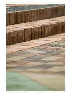 KK-Beton, Paliszádszegély 50*30*6 cm, barna