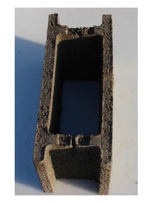 Beton LM, zsalukő 25*50*25cm (a raklap külön tétel)