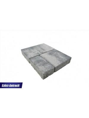 Térkő, Barabás Somló Trió 6 cm ezüst-antracit