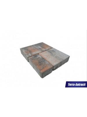 Térkő, Barabás Somló Trió 6 cm terra-antracit