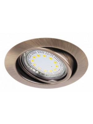 Rábalux, Lite, szpot GU10 3W LED billenthető, 3-as szett, kerek, 1051