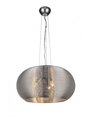 Rábalux, Meda függeszték E27 3x 60W ezüst, 2884