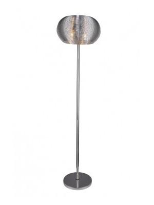 Rábalux, Meda állólámpa, E27, 2*60W ezüst, 2906
