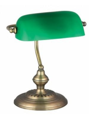 Rábalux, Bank, íróasztali lámpa, H33cm, 4038