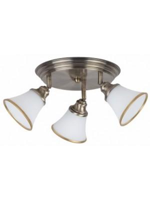 Rábalux, Grando mennyezeti lámpa, 3*E14, 40W, bronz, 6548