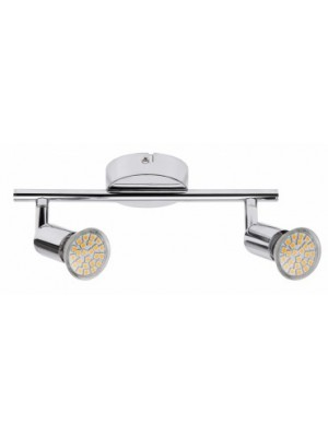 Rábalux, Norton LED, 2-spot GU10/3W LED króm, 6987