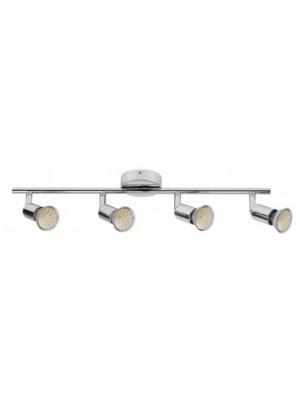 Rábalux, Norton LED, 4-spot GU10/3W LED króm, 6988