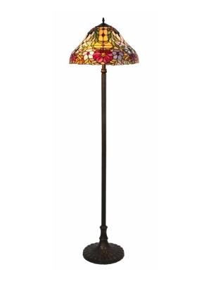 Rábalux, Mirella, Tiffany állólámpa, E27 2x60W, 8088