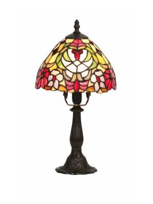 Rábalux, Mirella, Tiffany asztali lámpa, E14 1x40w, 8089