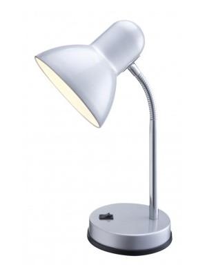 Globo, Basic, Asztali lámpa,  ezüst, króm D:130, H:330, exkl. 1xE27 40W 230V, 2487