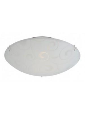 Globo, Bike, Mennyezeti lámpa,  króm, üveg D:250, H:85, exkl. 1xE27 ILLU 60W 230V, 40400-1