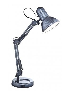 Globo, Carbon, Asztali lámpa,  karbon LxH:240x590, exkl. 1xE27 40W 230V, 24892