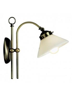 Globo, Landlife, Fali lámpa, réz, üveg opáldekorral, LxH:250x280, exkl. 1xE14 40W 230V, 6872
