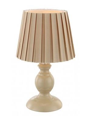 Globo, Metalic, Asztali lámpa, drapp szövet ernyő, 1xE14 40W 230V, 21690