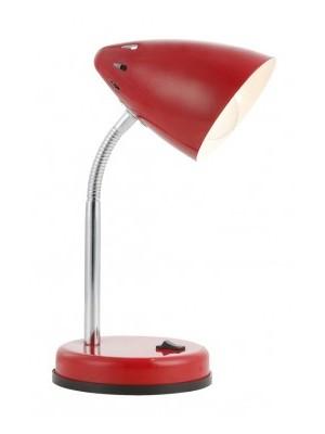 Globo, Mono, Asztali lámpa, króm piros LxH:205x350, exkl. 1xE14 40W 230V, 24850