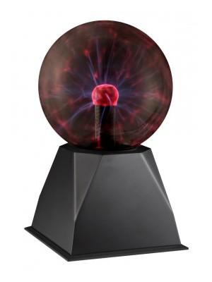 Globo, Plasma, Plazmalabda1X6W érintésre és hangra vibrál,D:127, H:205, 28011