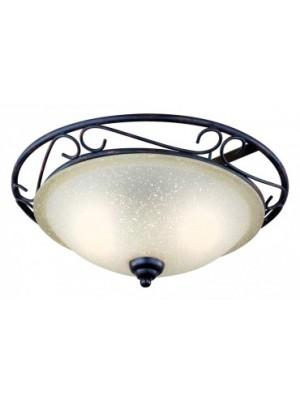 Globo, Rustica ii, Mennyezeti lámpa,  antikolt antik üveg, D:370, H:145, exkl. 2xE27 60W 230V, 4413-2