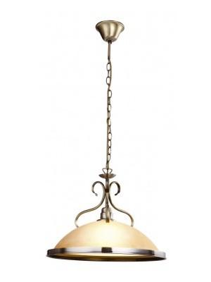 Globo, Sassari, Függeszték bronz, üveg gyertyán sárga  D:410, H:1250, exkl. 1xE27 60W 230V, 6905