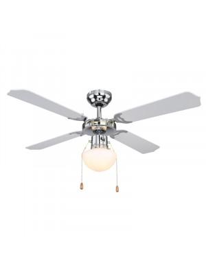 Globo, Champion, Mennyezeti ventillátor, lámpa, láncos húzókapcsolós 0309CSW
