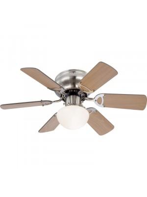 Globo, Ugo, Mennyezeti ventillátor, lámpa, láncos húzókapcsolóval 0307