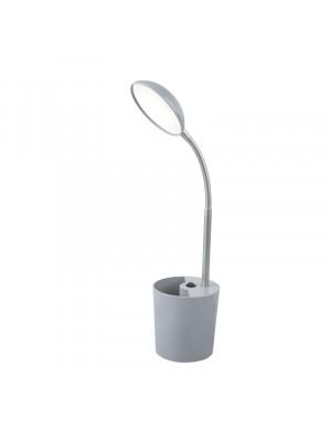 Globo, Cosmo, Asztali lámpa, szürke, flexo, tolltartóval 58201G