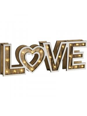 Globo, Love, Asztali lámpa, LED, 29976