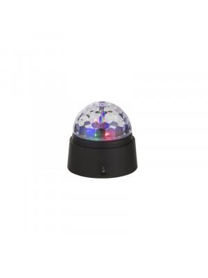 Globo, Disco, disco gömb, asztali lámpa, elemes 28014