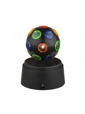 Globo, Disco, disco gömb, asztali lámpa, elemes 28017
