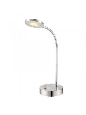 Globo, Deniz, Asztali lámpa, matt króm, 24122