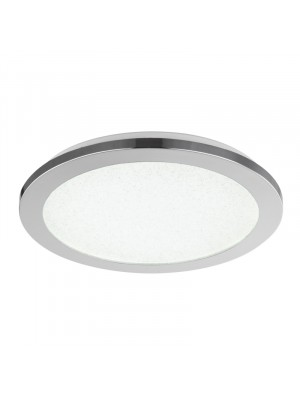 Globo, SIMPLY, mennyezeti lámpa,króm, szatén üveg, 41560-12