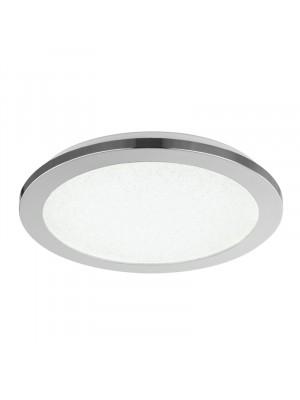 Globo, SIMPLY, mennyezeti lámpa,króm, szatén üveg, 41560-18