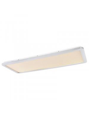 Globo, Gussago, Mennyezeti lámpa fém-króm, szatén búráva, 80*30 cm  41561-30D