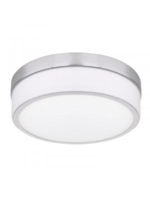 Globo, Legana, Mennyezeti lámpa króm, akril opál búrával, 41501-18