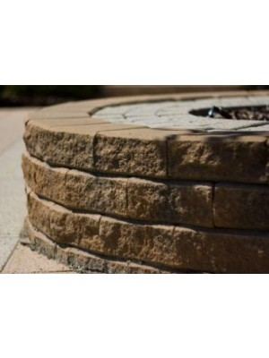 Lisszabon támfal, 20x15,3/23,1 cm, homok