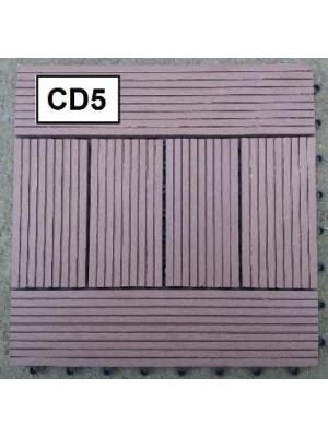 S.I., WPC CD5, Fa-műanyag kompozit teraszburkolat, 30*30cm