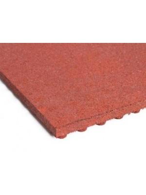 C.S.O., Esésvédő gumilap A4 vörös 40 mm, 100*100 cm
