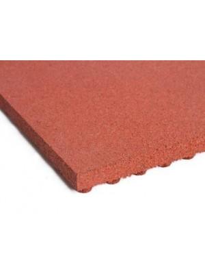 C.S.O., Esésvédő gumilap A3 vörös 50 mm, 100*100 cm