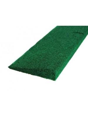 C.S.O., Gumi indító profil zöld 30 mm, 1000*250 mm
