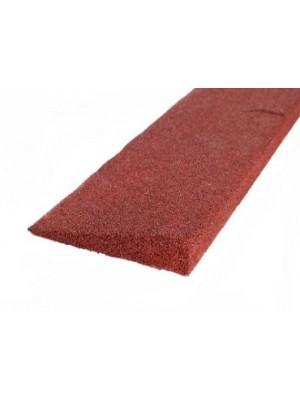 C.S.O., Gumi indító profil vörös 50 mm, 1000*250 mm
