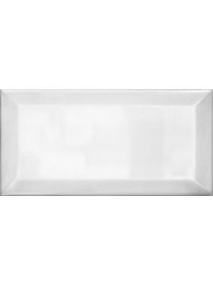 Csempe, Ceranosa, Metro csempe Plaqueta Biselado Brillo Blanco 10*20 cm I.o.