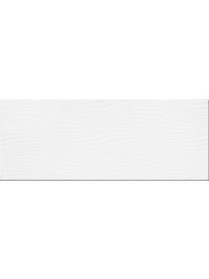 Csempe, A.G. Paula Wave W (domború hullámos felülettel) 20*50 cm I.o.
