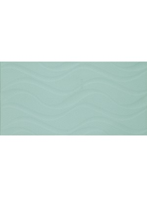 Csempe, Khan Izola Waves Green 25*50 cm 5898 I.o.